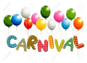 Carnival Balloons Clipart.