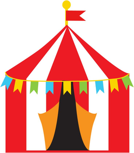 Free Carnival Tent Clipart.