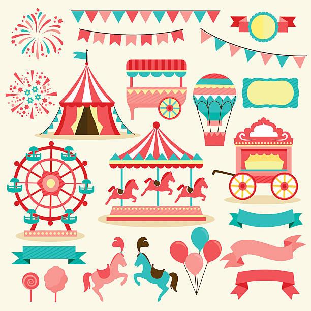 Best Carnival Illustrations, Royalty.