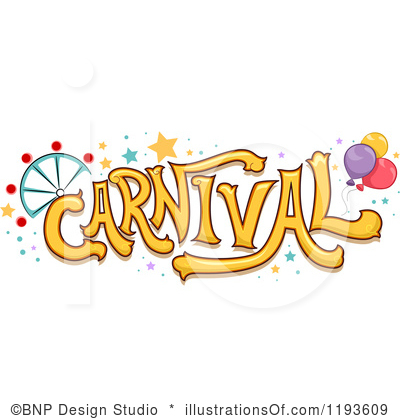 Carnival Sign Clipart.