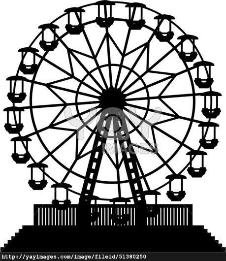 Carnival clipart black and white 1 » Clipart Portal.
