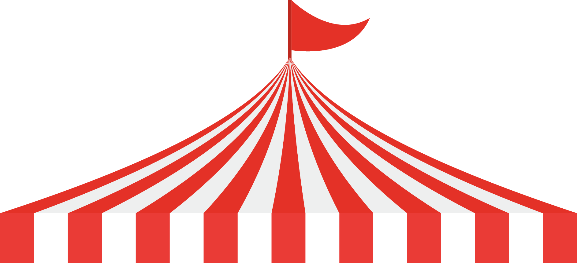 Circus Tent Traveling carnival Clip art.