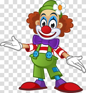 Clown Circus , 40% transparent background PNG clipart.