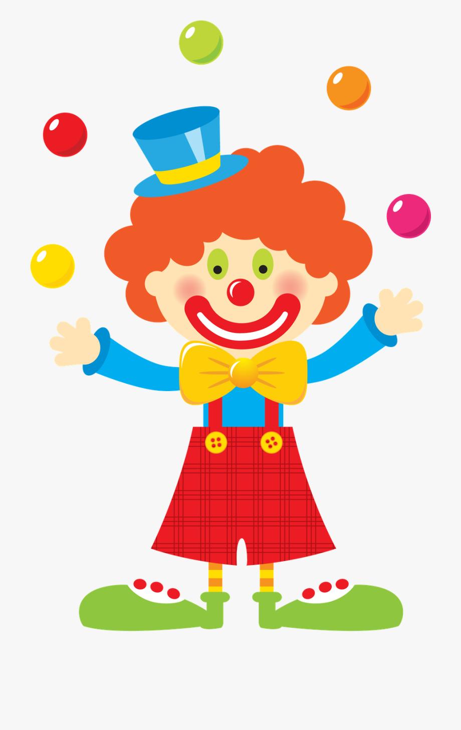 Carnival Clown Clipart.