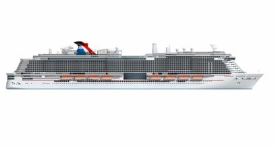 carnival cruise ship.