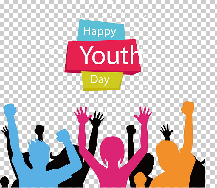 Carnival Youth Party, Happy Youth Day illustration PNG.
