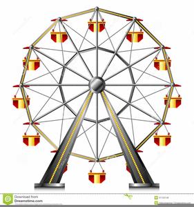 Carnival Ferris Wheel Clipart.