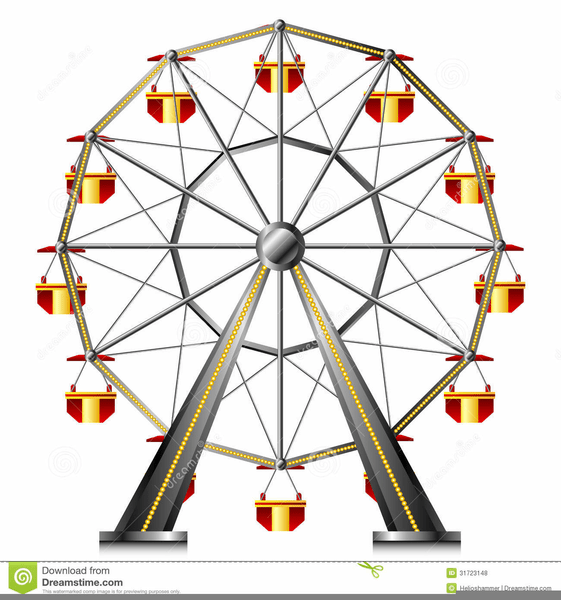 Carnival ferris wheel clipart 1 » Clipart Portal.