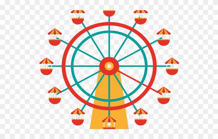 Ferris Wheel Clipart Fair Wheel.