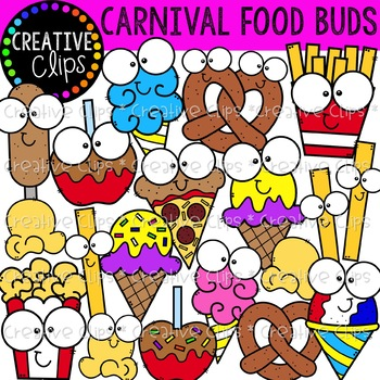 Carnival Food Buds {Creative Clips Clipart}.
