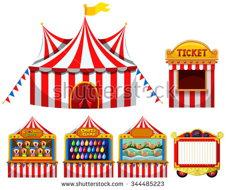 Carnival Games Clipart Group with 53+ items.