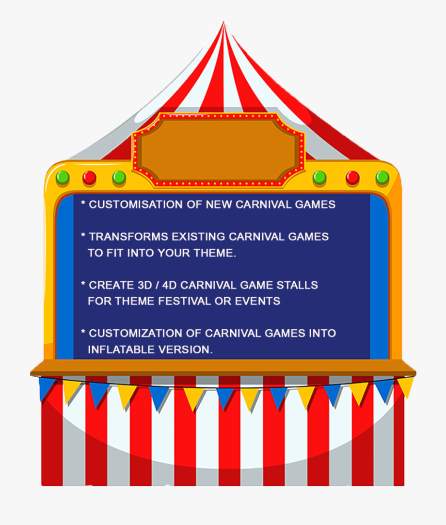 Carnival Game Clipart.