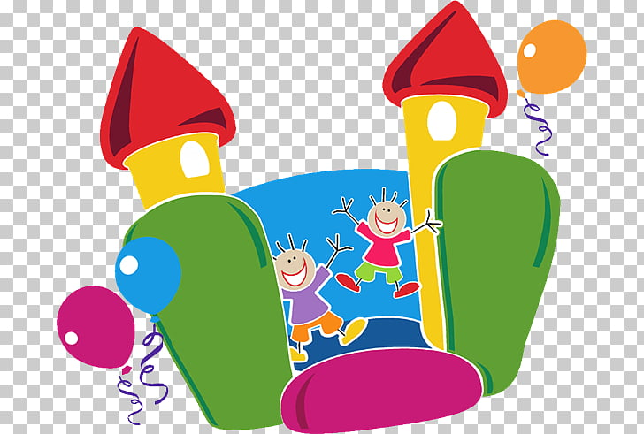 Inflatable castle , Carnival Games PNG clipart.