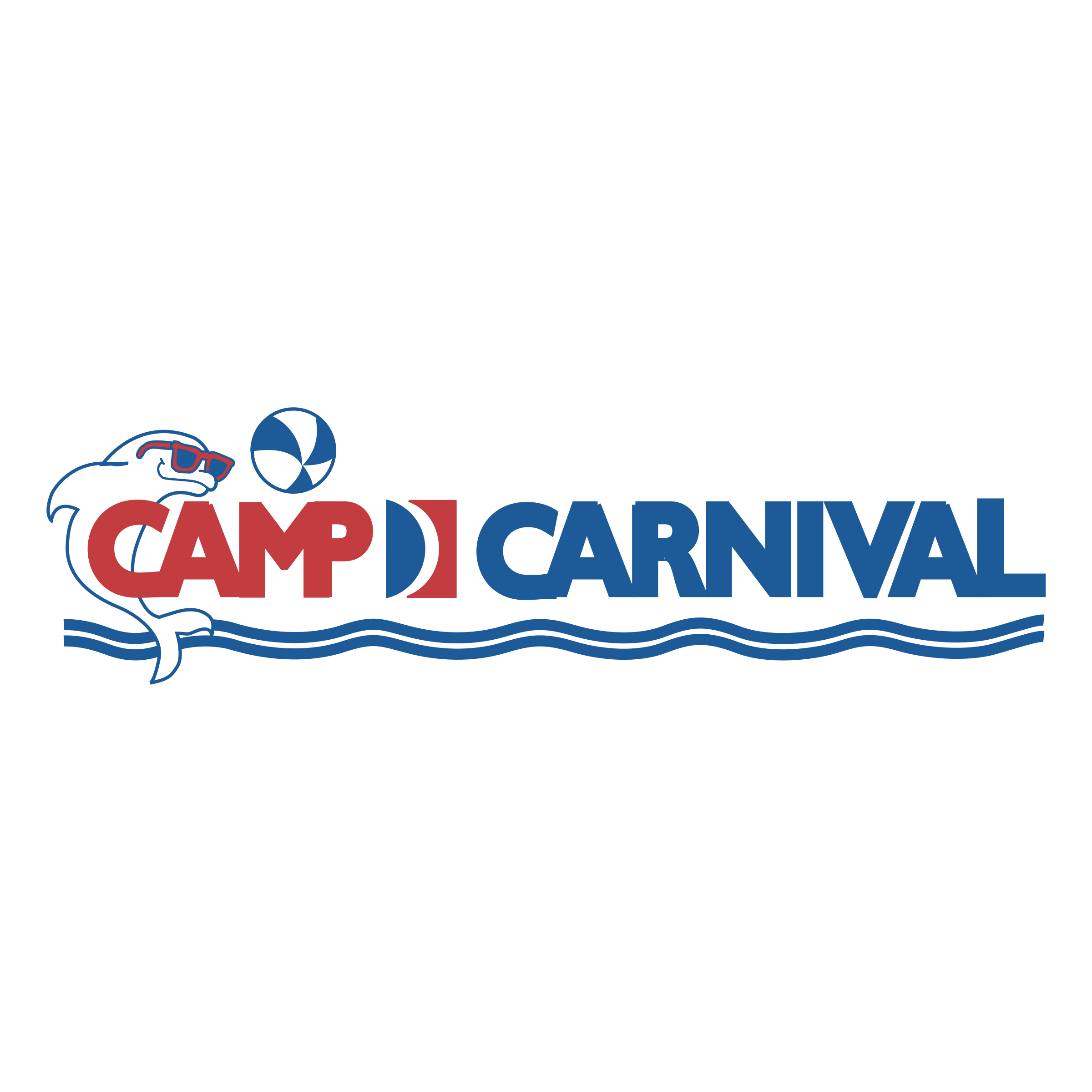 Camp Carnival Logo PNG Transparent & SVG Vector.