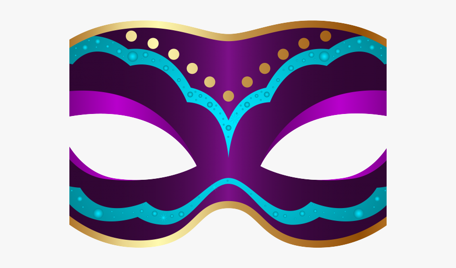 Carnival Mask Clipart Victorian.