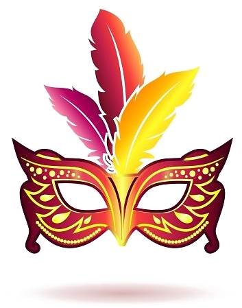 HD Carnival Mask Png Image Background.
