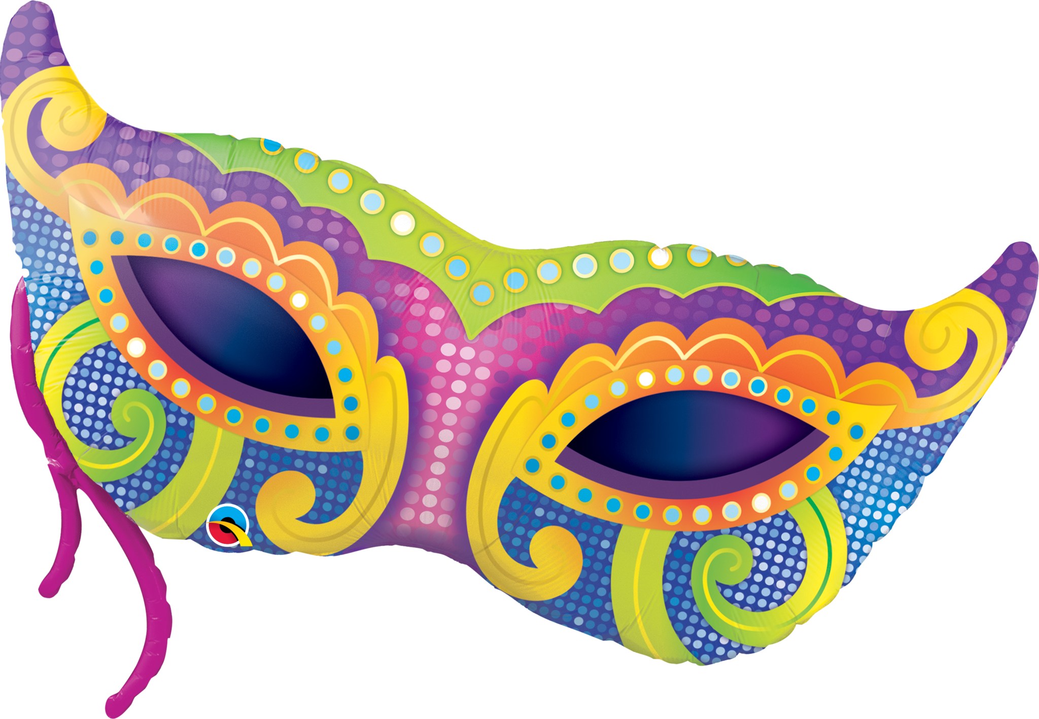 Carnival mask PNG.