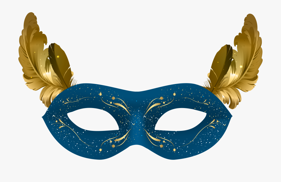Blue Stanley Mask Carnival Ipkiss Download Hq Png Clipart.