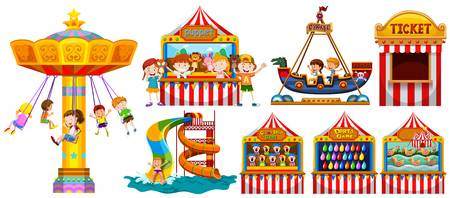 5,359 Carnival Ride Cliparts, Stock Vector And Royalty Free Carnival.