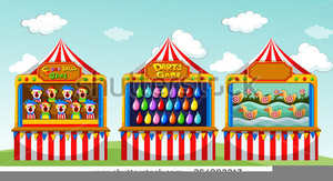 Free Carnival Rides Clipart.