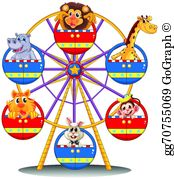 Carnival Ride Clip Art.