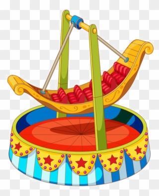 Free PNG Carnival Rides Clip Art Download.
