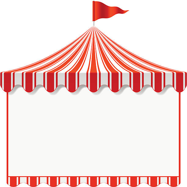Best Circus Tent Illustrations, Royalty.