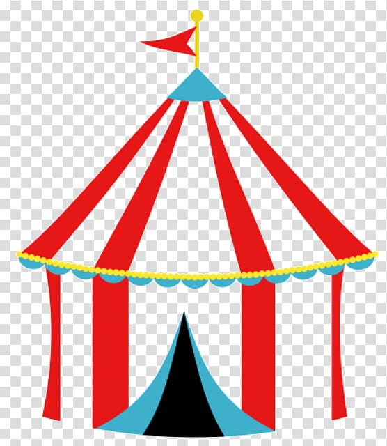 Red and blue circus tent, Tent Carnival Circus , circus tent.