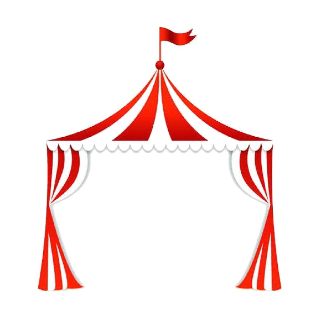 Carnival Tent Clipart Clip Art Clown Royalty Free Illustration Music.