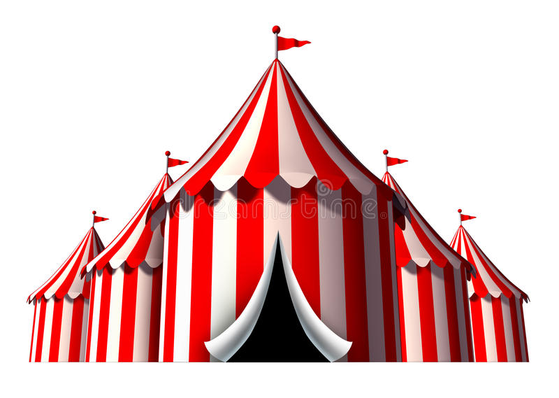 Circus Tent Stock Illustrations.