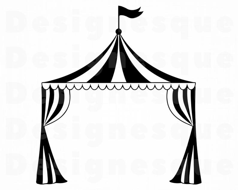 Collection of Tent clipart.