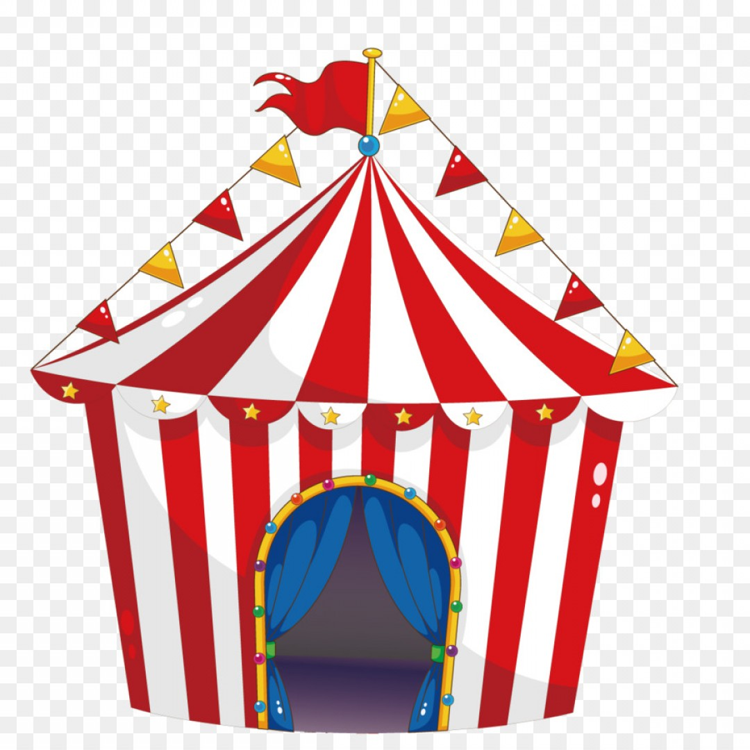 Png Tent Circus Carnival Illustration Vector Circus.