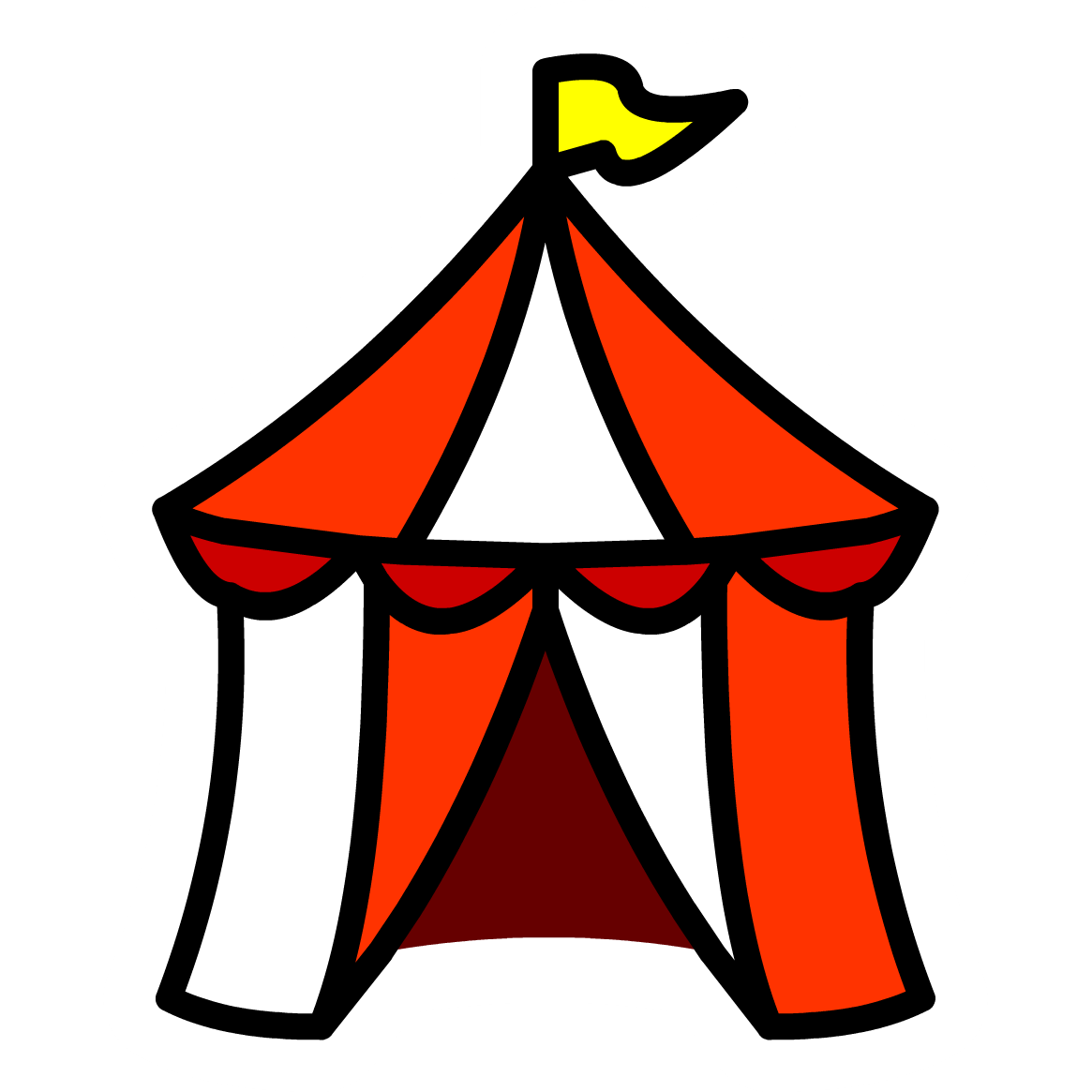 Carnival Tent Clip Art.