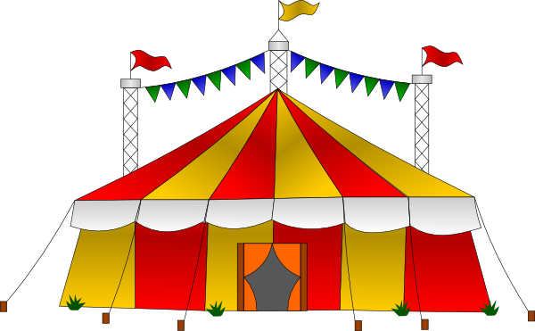 Carnival Tents Clipart.