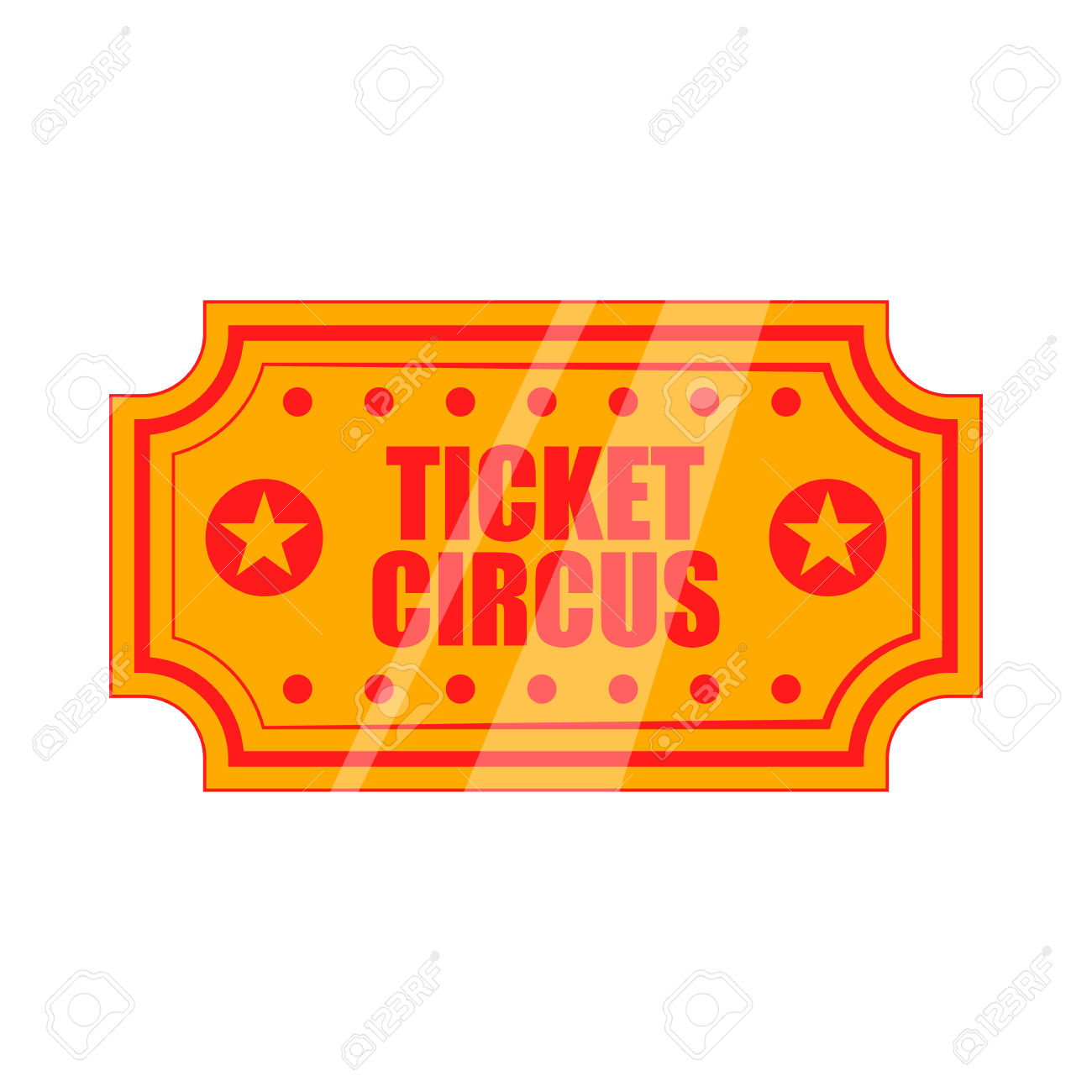 Carnival Ticket Clipart.
