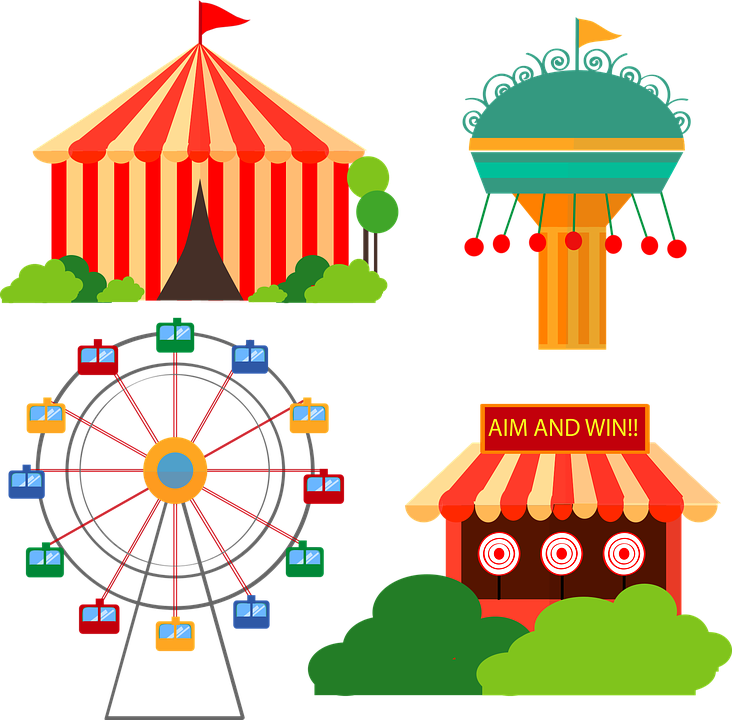 Carnival Cartoon Vectors Fair Fav.