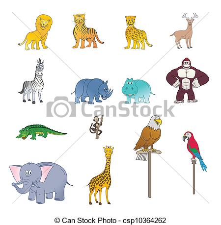 Carnivores color Vector Clipart EPS Images. 831 Carnivores color.