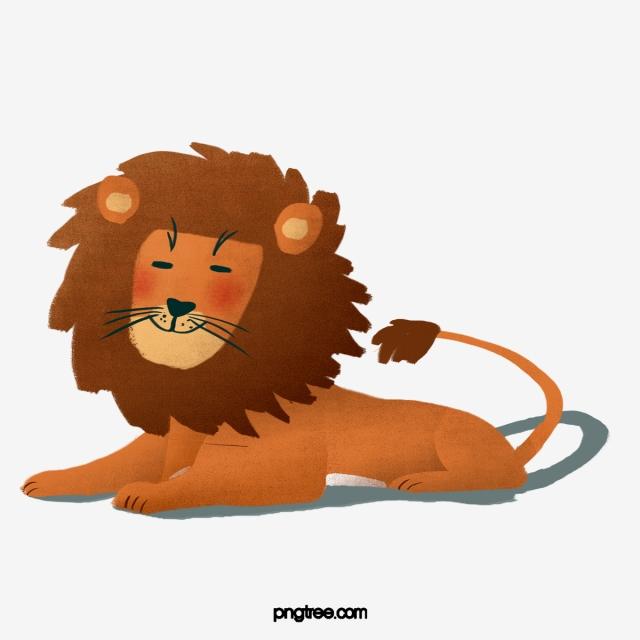 Brown Carnivore Lion, Brown, Carnivorous, Animal PNG Transparent.