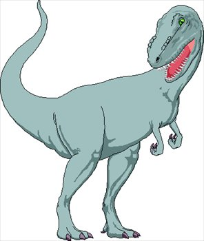 Tyrannosaurus rex clipart #6