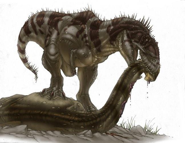 Carnosauria: Tyrannotitan.