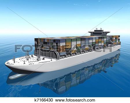 Stock Illustrations of Caro ship k7166430.