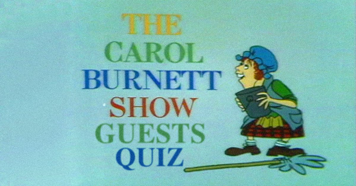 Can you recognize all these celebrity guest stars on The Carol.