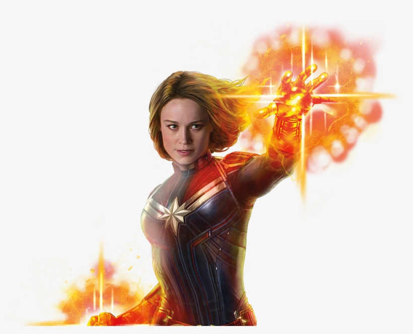 Carol Danvers Suits Up To Defend The Universe As Captain.