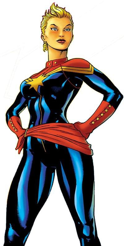 Carol Danvers PNG Download Image.