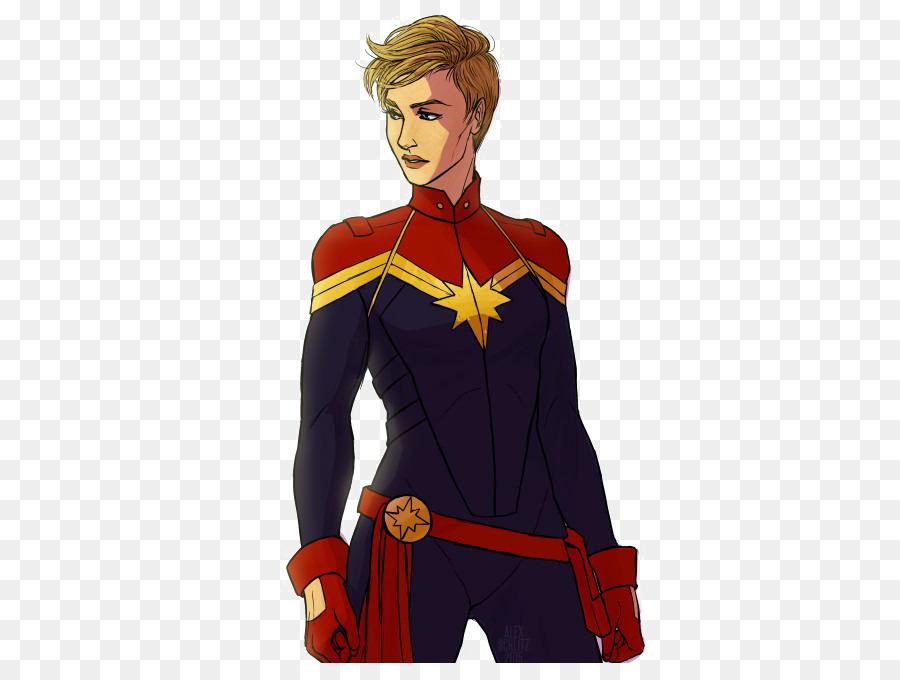 Carol Danvers Superhero png download.