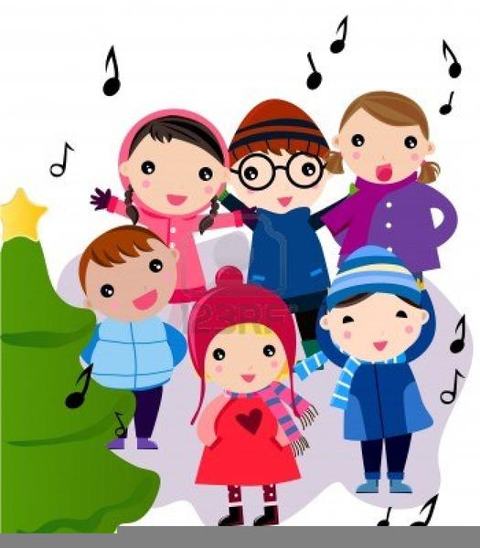 Free Clipart Of Carol Singers.