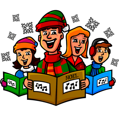 Image: Christmas Carolers.