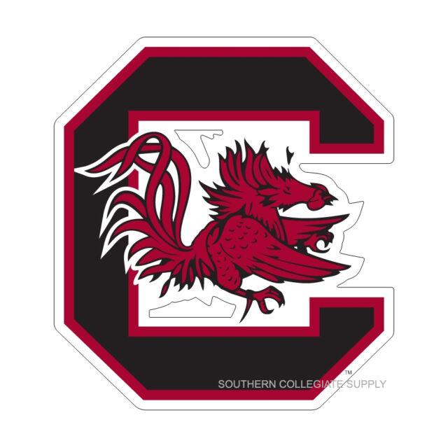 USC UNIVERSITY OF SOUTH CAROLINA Gamecocks Large Logo Decal.