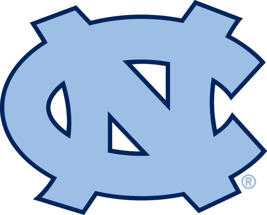 North Carolina Tar Heels Primary Logo Ncaa Division I N R.
