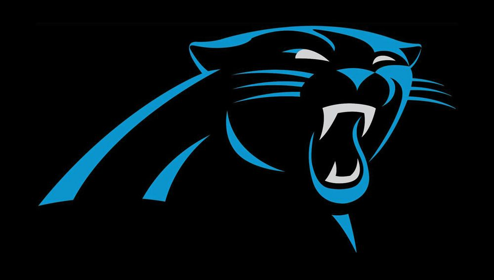 colors carolina panthers logo.